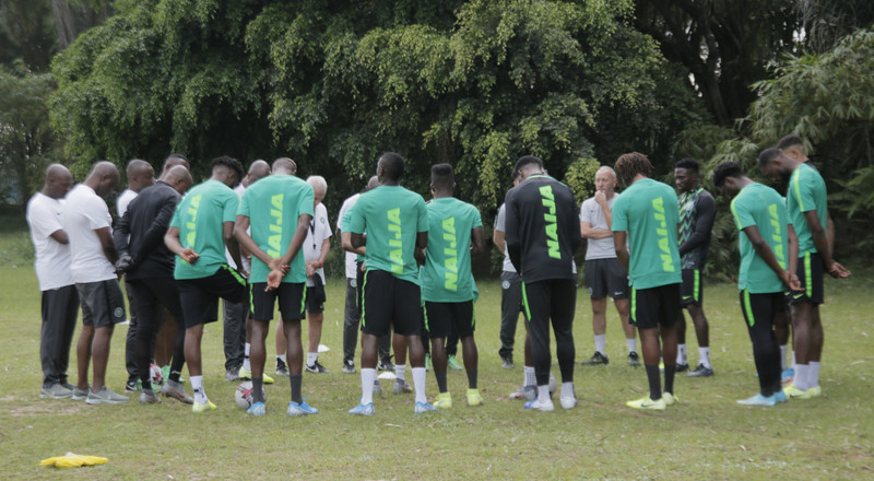 Camp Update: How Super Eagles are preparing for upcoming AFCON 2021 qualifiers