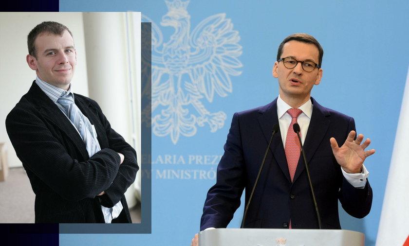 Wiktor Świetlik: Zejście z kursu Morawieckiego to koniec władzy prawicy