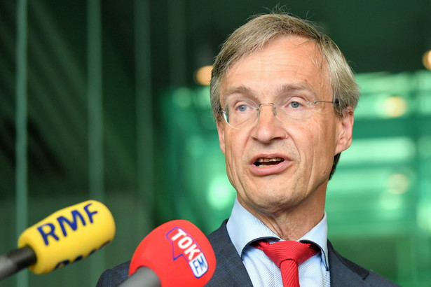 Prezes SN Holandii Maarten Feteris