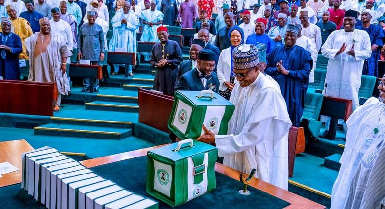 Buhari submits 2020 budget