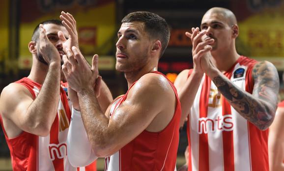Košarkaši Zvezde posle poraza od Monaka
