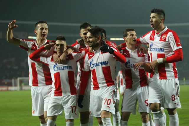 Marko Grujić dok je nosio dres Crvene zvezde