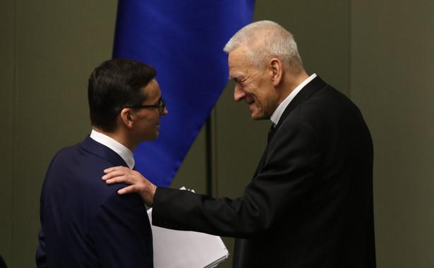 K.Morawiecki przyznał, że nie rozmawiał z synem, Mateuszem Morawieckim na temat spotkania z sędzią Gersdorf.