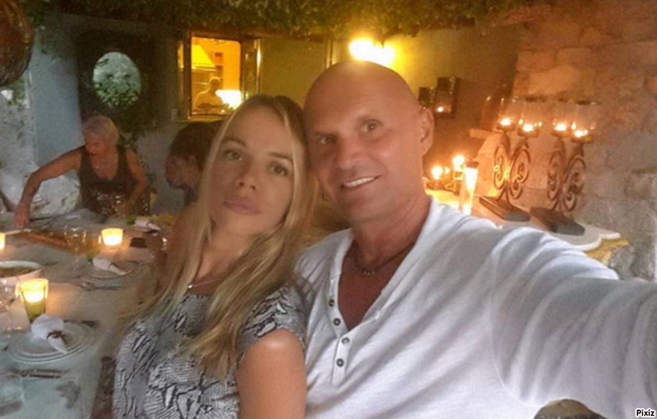 Aleksandar Milić Mili sa suprugom