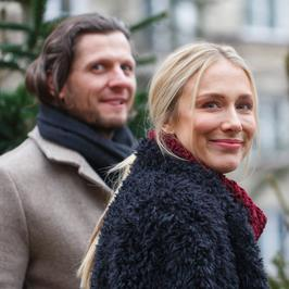 Natalia Klimas z partnerem i inne gwiazdy w wiosce św. Mikołaja