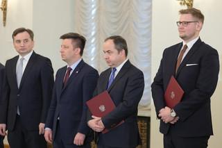 Zmiany w rządzie: Michał Woś ministrem środowiska, Konrad Szymański ministrem ds. UE