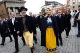 Smetaju mu Srbi: Lider stranke Švedske demokrate Per Džimi Akeson i supruga