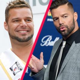 Ricky Martin dziś jest ideałem. Kiedyś walczył z... nadwagą! Jak się zmieniał piosenkarz?