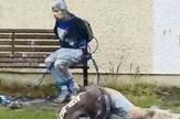pedofili vezani za klupu, severna irska