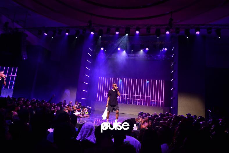 Wizkid thrills the crowd at his VIP Live event
