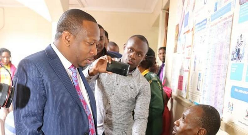 Nairobi Governor Mike Sonko storms Mama Lucy Kibaki Hospital, discovers scandal on missing drugs