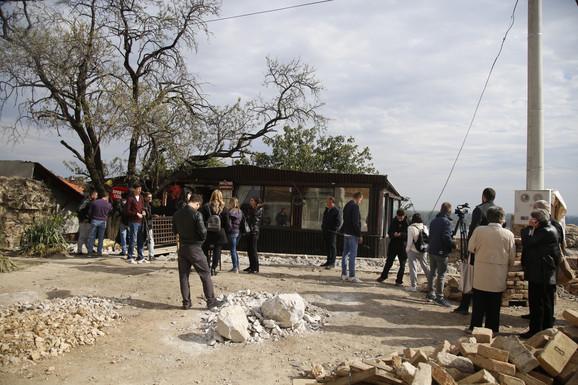 Građani okupljeni na Gardošu
