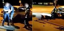 Policjant rażony paralizatorem podczas interwencji? Pojawiło się nagranie