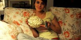 Kasia Tusk w pidżamie?! Ogląda w TV...
