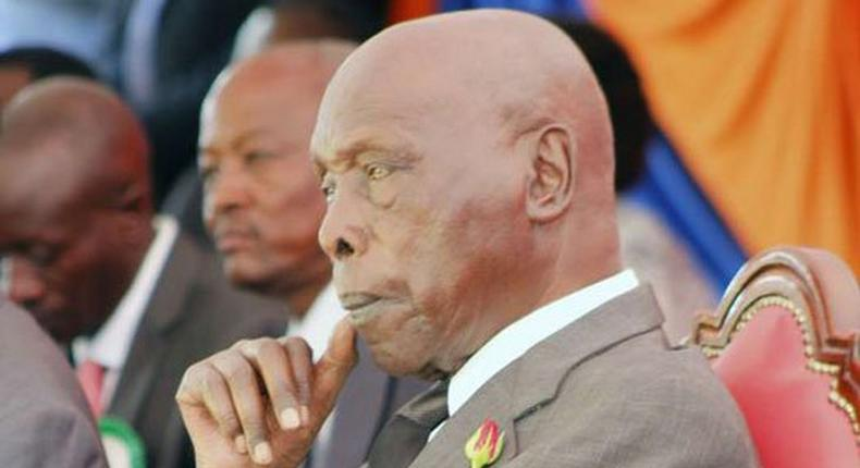 Retired President Daniel arap Moi
