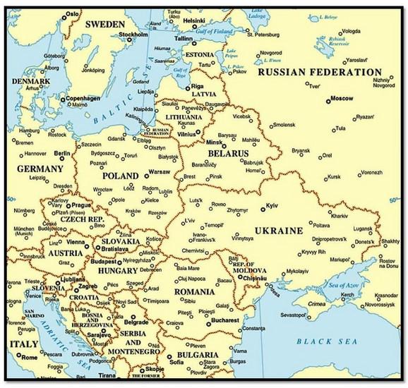 Geografija je saveznik Rusa