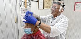 92-letni fryzjer: będę strzygł do setki!