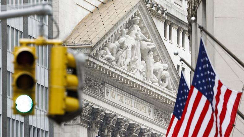 Siedziba giełdy na Wall Street