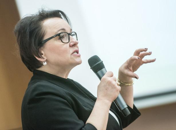 Minister edukacji narodowej Anna Zalewska, PAP/Tomasz Koryszko