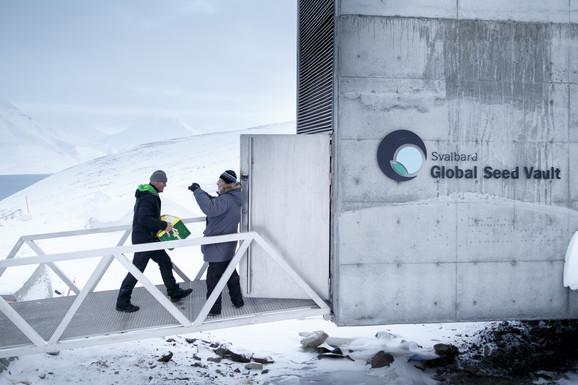 Globalna banka biljnog semena Svalbard