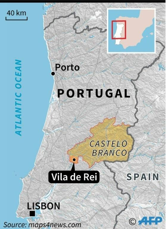The fires hit the heavily forested region of Castelo Branco and the municipality of Vila de Rei