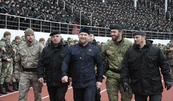 PredsednikČečenije Ramzan Kadirov