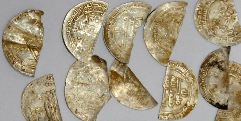 Wędkarze znaleźli stare monety