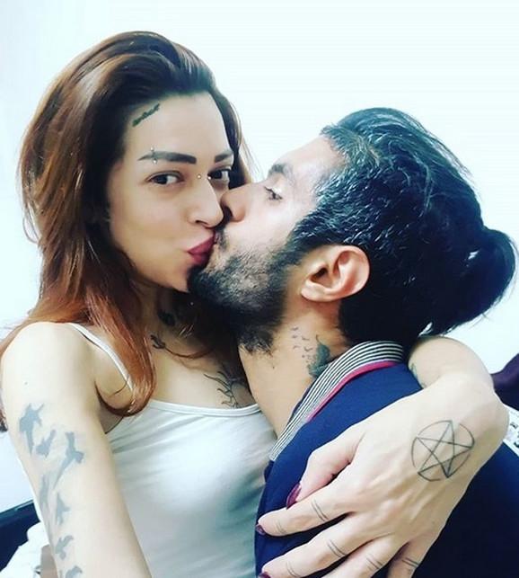 Dunja Ilić sa mužem