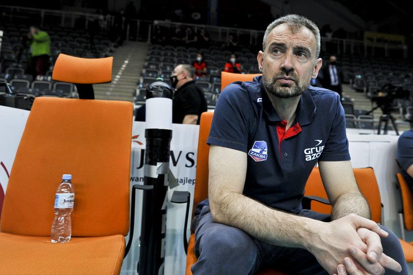 Nikola Grbić (48 l.) w grudniu ogłosił, że zostaje w Kędzierzynie-Koźlu na kolejne dwa lata, podpisując stosowną umowę z Zaksą.