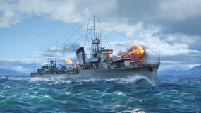 World of Warships - ORP Błyskawica jest już dostępna w grze