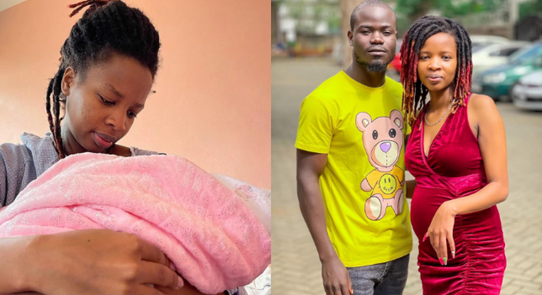 Mulamwah and girlfriend Sonie welcome a bouncing Baby Girl (Photo)