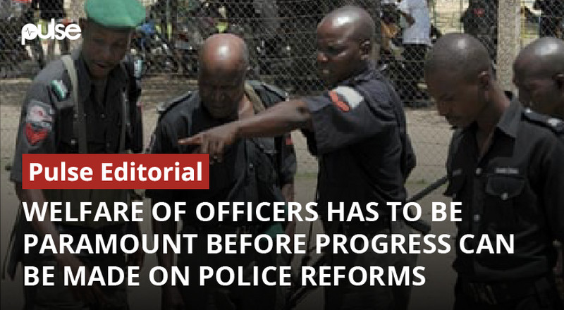 Welfare of police officers has to be paramount before progress can be made on police reforms [Pulse Editorial]