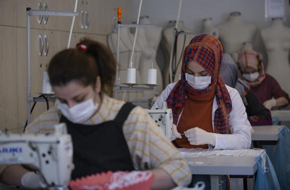 Istanbul, epidemija korona virusa