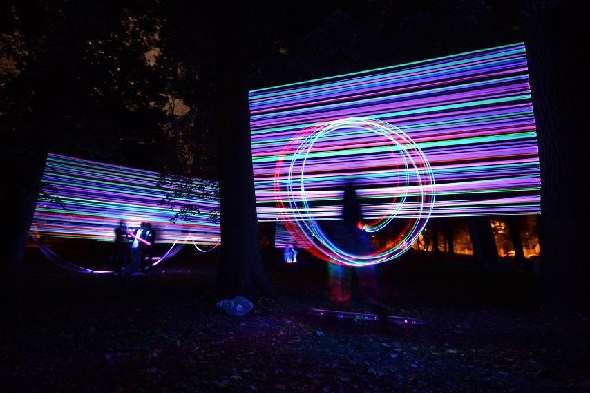 Zachwycające instalacje z Bella Skyway Festiwal w Toruniu