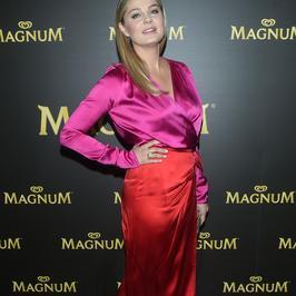 Małgorzata Socha w odważnym połączeniu na imprezie Magnum. Jak wyszło?