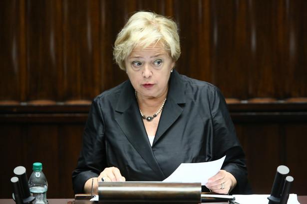 Gersdorf przedstawiła posłom sprawozdanie z działalności SN za 2015 r. Sejm przyjął jej sprawozdanie i przeprowadził nad nim debatę.