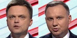 Debata prezydencka w TVP. Hołownia: Duda nie rozróżnia emigrantów zarobkowych i uchodźców