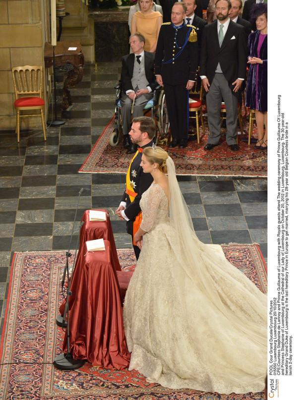 Ślub następcy tronu Luksemburga Wilhelma i jego wybranki Stephanie de Lannoy