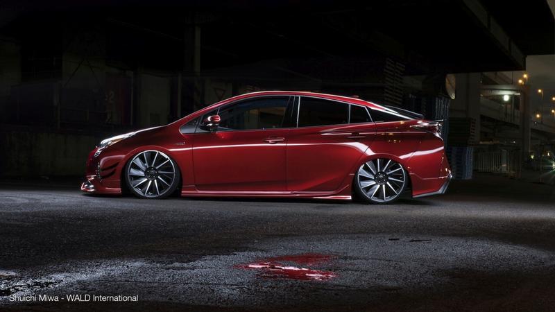 Toyota Prius po tuningu