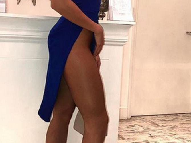 U ovakvoj haljini je pošla u noćni izlazak: Napravila pometnju i u gradu i na Instagramu!