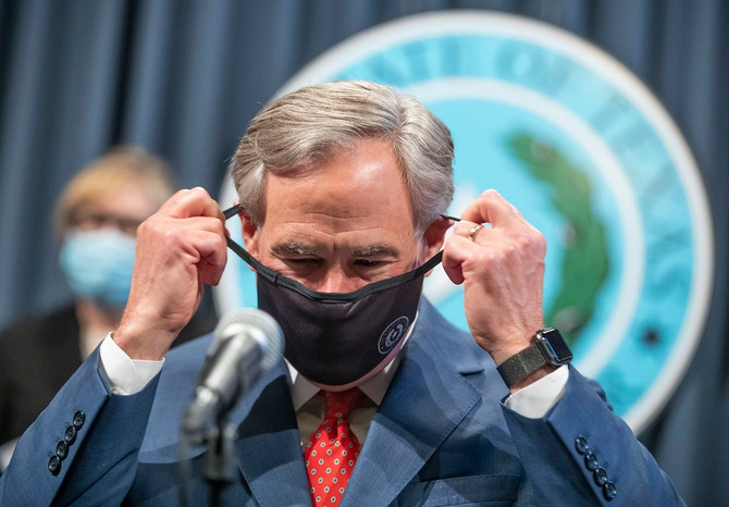 Abot tvrdi da je vreme da se Teksas otvori 100 odsto