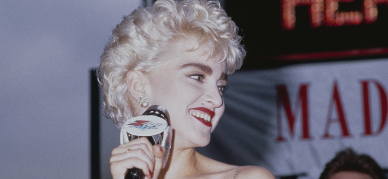 Madonna w sierpniu 1987 roku/Fot. Getty Images/Michael Ochs Archives /Stringer