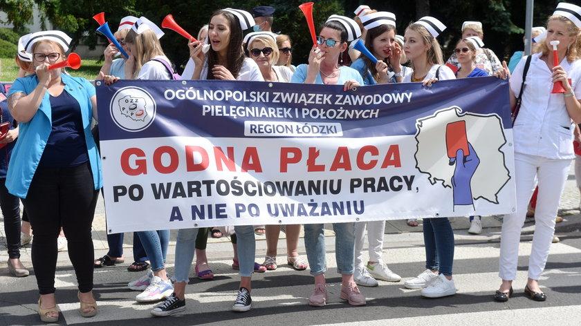 Ochrona zdrowia. Pracownicy zapowiadająprotest na 11 września.