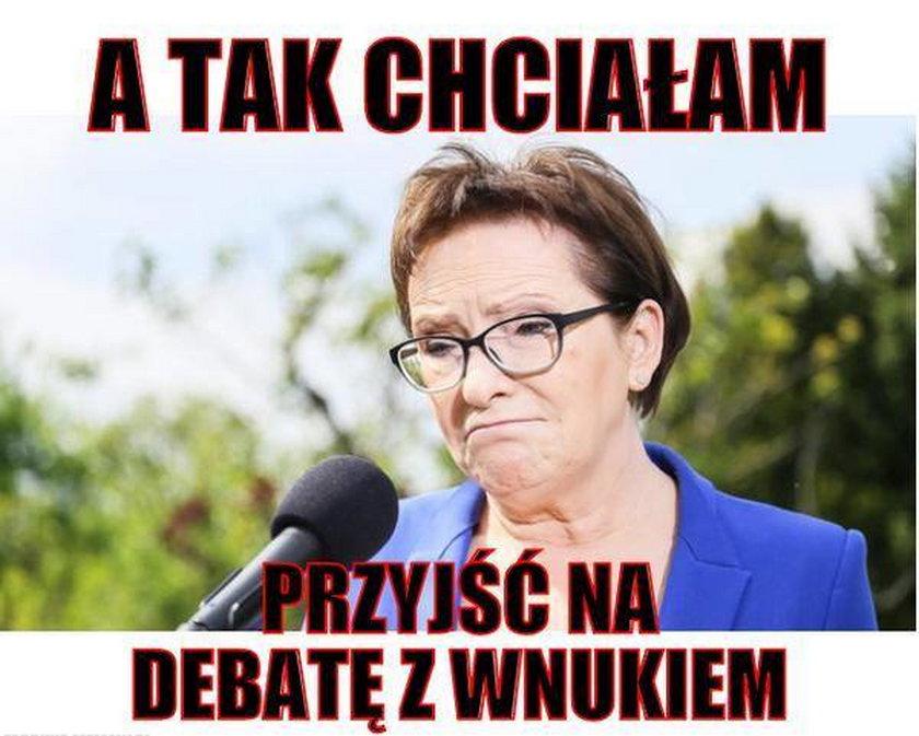 Ewa Kopacz, premier i przewodnicząca PO