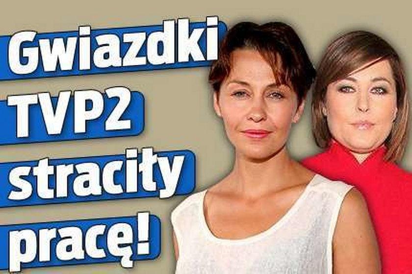 Gwiazdki TVP2 straciły pracę!
