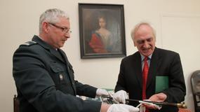 Olsztyn: XIX-wieczny bagnet zarekwirowany przemytnikowi trafił do Muzeum Warmii i Mazur