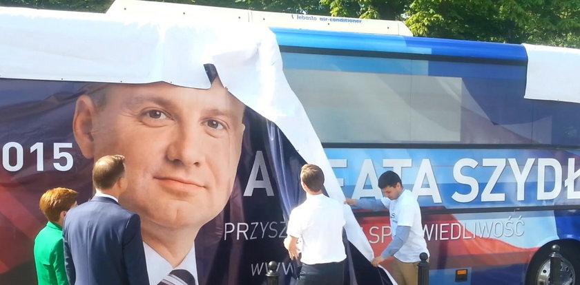 Wpadka Szydło na starcie kampanii!