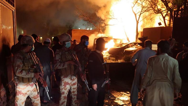 Eksplozja w luksusowym hotelu w Pakistanie