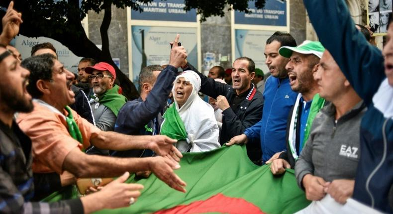 Mass anti-government protests in Algeria have entered their ninth month with demonstrators demanding an overhaul of the political establishment before presidential polls are held in December
