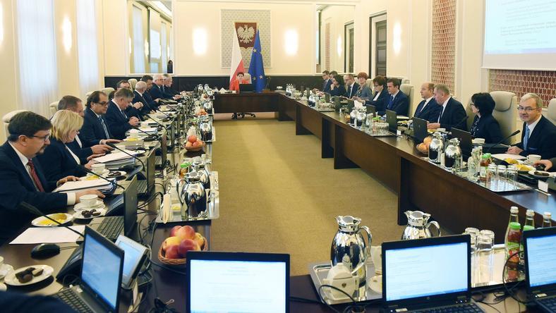 Posiedzenia rządu B. Szydło